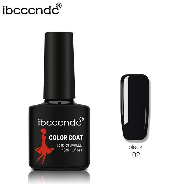 New Ibcccndc 80 Colors 10Ml Uv Led Soak-Off Gel Nail Polish Nail Art Semi Permanent Gel Varnishes-Nails & Tools-ibcccndc Official Store-2-EpicWorldStore.com