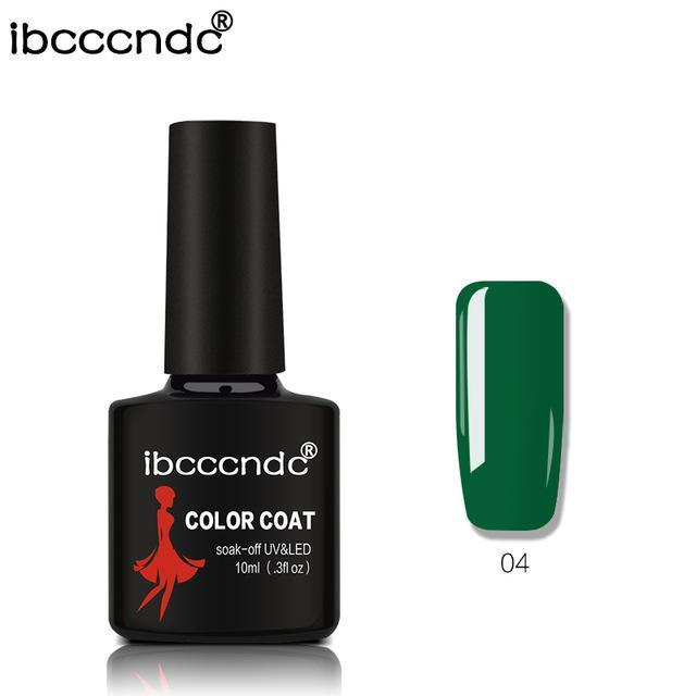 New Ibcccndc 80 Colors 10Ml Uv Led Soak-Off Gel Nail Polish Nail Art Semi Permanent Gel Varnishes-Nails & Tools-ibcccndc Official Store-4-EpicWorldStore.com