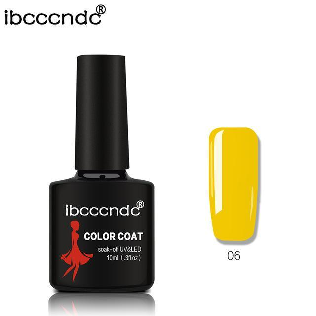 New Ibcccndc 80 Colors 10Ml Uv Led Soak-Off Gel Nail Polish Nail Art Semi Permanent Gel Varnishes-Nails & Tools-ibcccndc Official Store-6-EpicWorldStore.com