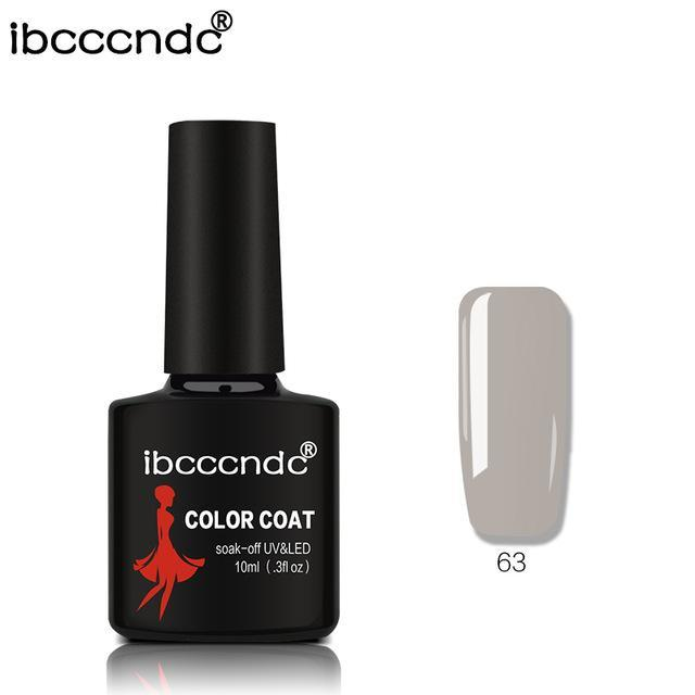 New Ibcccndc 80 Colors 10Ml Uv Led Soak-Off Gel Nail Polish Nail Art Semi Permanent Gel Varnishes-Nails & Tools-ibcccndc Official Store-63-EpicWorldStore.com