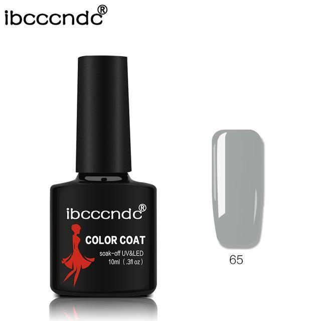 New Ibcccndc 80 Colors 10Ml Uv Led Soak-Off Gel Nail Polish Nail Art Semi Permanent Gel Varnishes-Nails & Tools-ibcccndc Official Store-65-EpicWorldStore.com