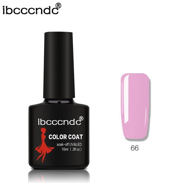 New Ibcccndc 80 Colors 10Ml Uv Led Soak-Off Gel Nail Polish Nail Art Semi Permanent Gel Varnishes-Nails & Tools-ibcccndc Official Store-66-EpicWorldStore.com