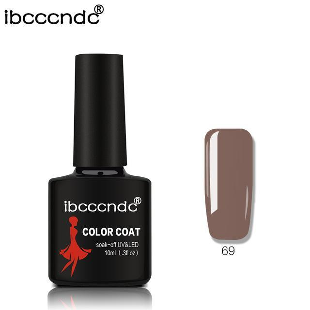 New Ibcccndc 80 Colors 10Ml Uv Led Soak-Off Gel Nail Polish Nail Art Semi Permanent Gel Varnishes-Nails & Tools-ibcccndc Official Store-69-EpicWorldStore.com