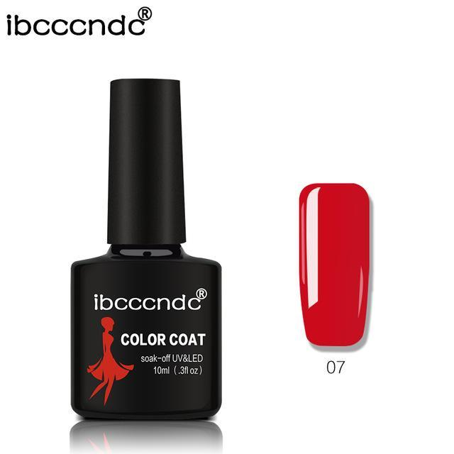 New Ibcccndc 80 Colors 10Ml Uv Led Soak-Off Gel Nail Polish Nail Art Semi Permanent Gel Varnishes-Nails & Tools-ibcccndc Official Store-7-EpicWorldStore.com