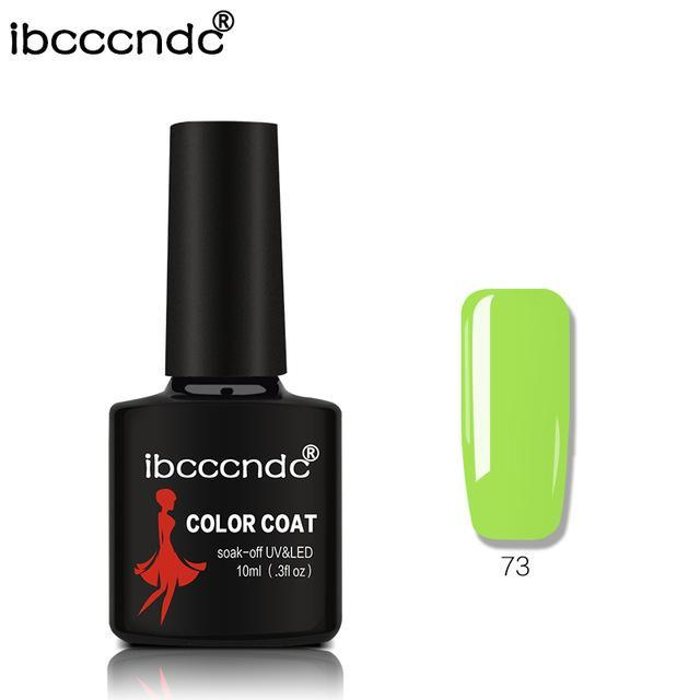 New Ibcccndc 80 Colors 10Ml Uv Led Soak-Off Gel Nail Polish Nail Art Semi Permanent Gel Varnishes-Nails & Tools-ibcccndc Official Store-73-EpicWorldStore.com