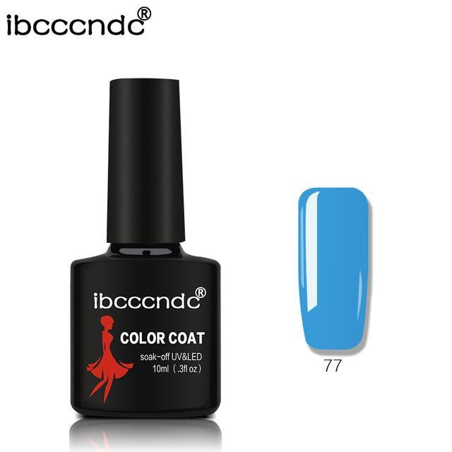 New Ibcccndc 80 Colors 10Ml Uv Led Soak-Off Gel Nail Polish Nail Art Semi Permanent Gel Varnishes-Nails & Tools-ibcccndc Official Store-77-EpicWorldStore.com