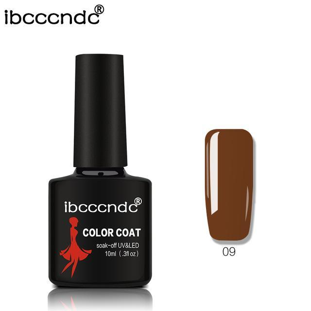 New Ibcccndc 80 Colors 10Ml Uv Led Soak-Off Gel Nail Polish Nail Art Semi Permanent Gel Varnishes-Nails & Tools-ibcccndc Official Store-9-EpicWorldStore.com