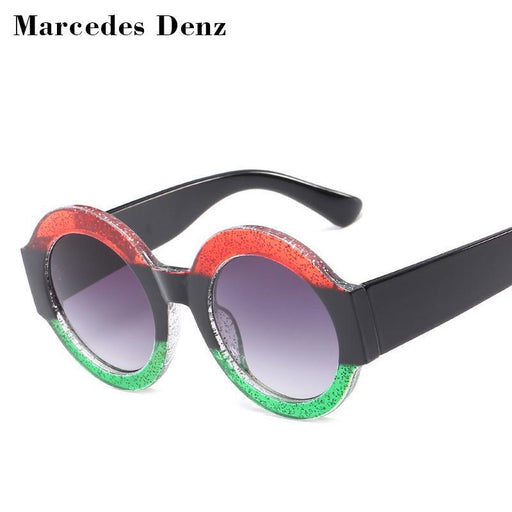 New Luxury Vintage Round Sunglasses Women Brand Designer Circle Round Sun Glasses Female Uv400-Sunglasses-ALI Glass Store-1-EpicWorldStore.com