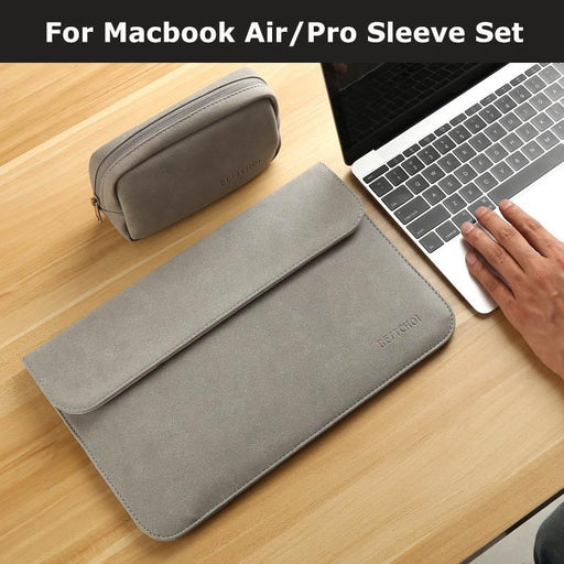 New Matte Laptop Bag For Macbook Air 13 12 Pro 13 Case Sleeve Women Men Waterproof Bag For Mac-Laptop Accessories-Laptop Bags Loves Accessory Store-Pink Sleeve-for Macbook Air 11-EpicWorldStore.com