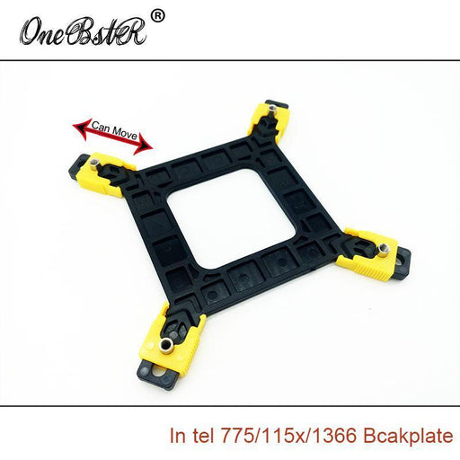 New Multi-Platform 775/1155/1156/1366 Cpu Backplane Desktop Computer Common Backplate Cpu-Industrial Computer & Accessories-ONEBSTR Official Store-EpicWorldStore.com
