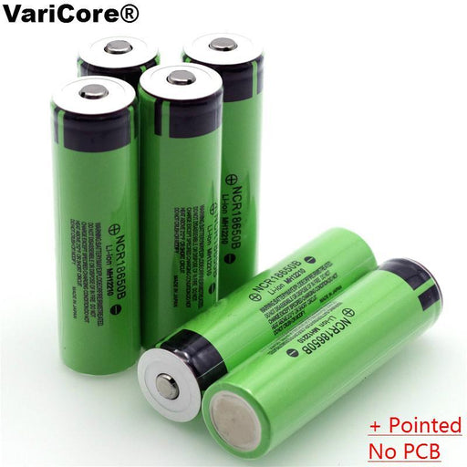 New Original 18650 3.7 V 3400 Mah Lithium Rechargeable Battery Ncr18650B With Pointed(No Pcb) For-Accessories & Parts-GlobalPower Co., LT Store-1PCS battery-EpicWorldStore.com