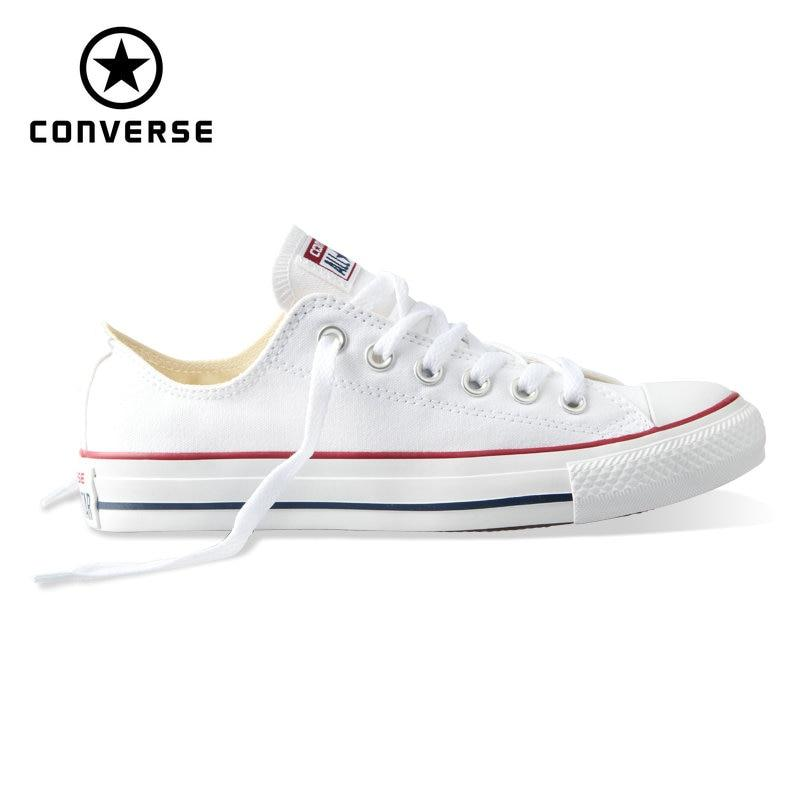 6e15de9615f6 New Original Converse All Star Canvas Shoes Mens And Womens Sneakers Low  Classic Skateboarding Shoes-