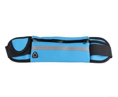 New Outdoor Running Waist Bag Waterproof Mobile Phone Holder Jogging Belt Belly Bag Women Gym-Sport Bags-WinmaxSportsBag Store-Blue Color-EpicWorldStore.com