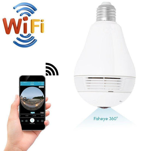 New Panoramic Camera 960P Wifi 360 Degree Wireless Bulb Light Ip Camera 1.3Mp Home Security Vr-360° Video Cameras & Accessories-SSICON Store-EpicWorldStore.com