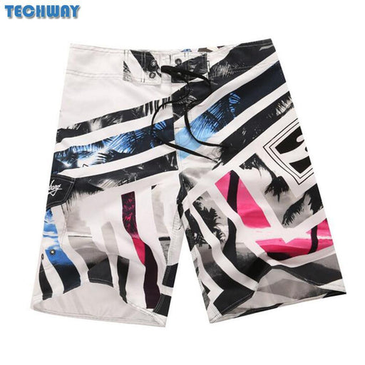 New Plus Size Mens Beach Shorts Mens Bermuda Surf Boardshorts For Swimwear Men Swim Surfing-Water Sports-Chonyun Store-13-30-EpicWorldStore.com