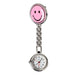 New Portable Charming Smile Face Nurse Fob Brooch Pendant Pocket Quartz Watch Hot Sell Ll@17-Pocket & Fob Watches-Stylish 88 Store-Pink-EpicWorldStore.com