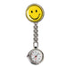 New Portable Charming Smile Face Nurse Fob Brooch Pendant Pocket Quartz Watch Hot Sell Ll@17-Pocket & Fob Watches-Stylish 88 Store-Yellow-EpicWorldStore.com