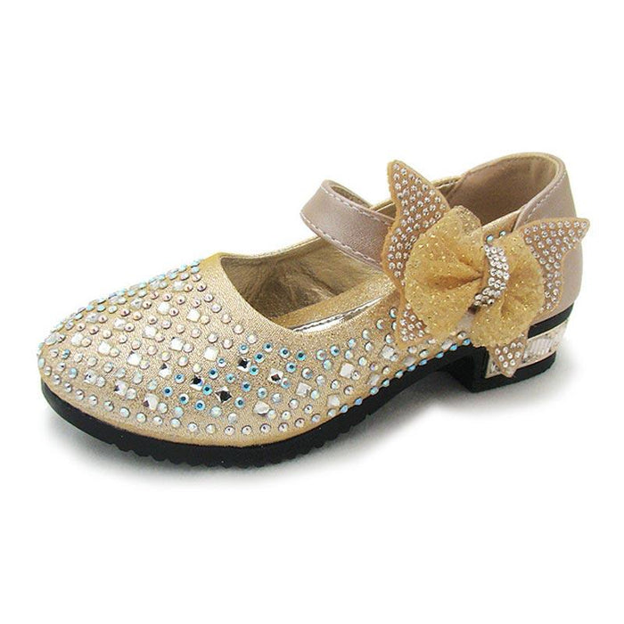 28145ec7a0b4 New Princess Children Princess Sandals Kids Girls Wedding Shoes Dress Shoes  Girls Party Shoes-Children s