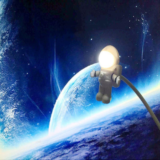 New Style Cool New Astronaut Spaceman Usb Led Adjustable Night Light For Computer Pc Lamp Desk Light-LED Lamps-Hey Girl Store-EpicWorldStore.com