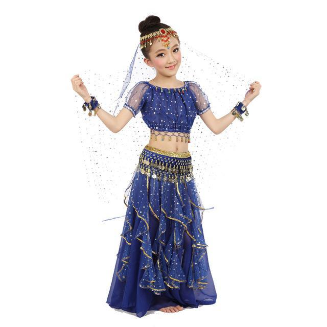 11ff541e98 New Style Kids Belly Dance Costume Oriental Dance Costumes Belly Dance  Dancer Clothes Indian Dance-