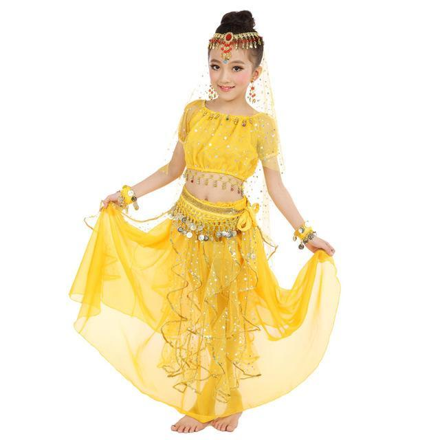 New Style Kids Belly Dance Costume Oriental Dance Costumes Belly