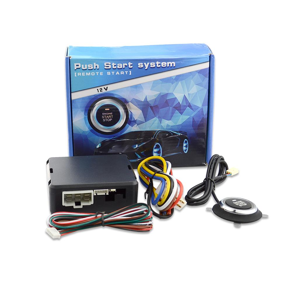 New Styling Car Start Stop Engine System Push Button Keyless Entry Wiring Sys