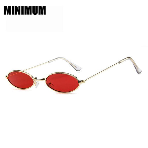 New Sunglasses Women Style Small Vintag Marine Red Lens Ladies Sun Glasses Little Egg-Sunglasses-KACHAWOO Eyewear Store-red-EpicWorldStore.com