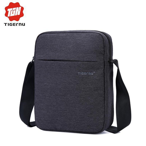 New Tigernu Brand Men Bag Waterproof Oxford Messenger Bag Business Casual Briefcase-tigernu Store-Black Grey-EpicWorldStore.com