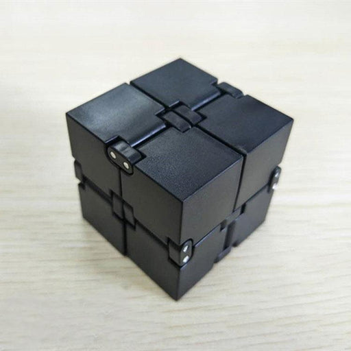 New Trend Creative Infinite Cube Infinity Cube Magic Fidget Cube Office Flip Cubic Puzzle Anti-Novelty & Gag Toys-Shop3177044 Store-White-EpicWorldStore.com