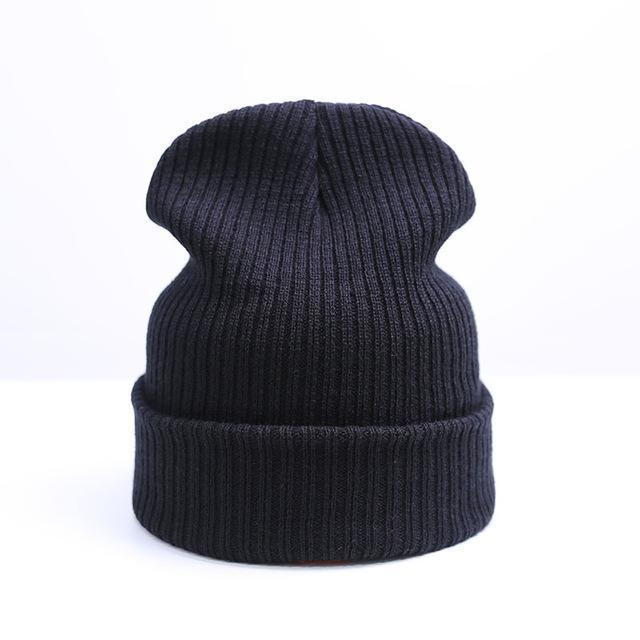 dd60851a4e13f8 New Winter Hat Women Man Hat Skullies Beanies Unisex Warm Hat Knitted Cap  Hats For Men