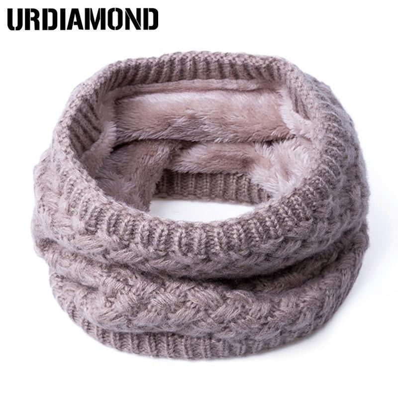 New Winter Scarf For Women Men General Baby Scarf Thickened Wool Collar Scarves Boys-Accessories-BoomUp Store-Black-EpicWorldStore.com