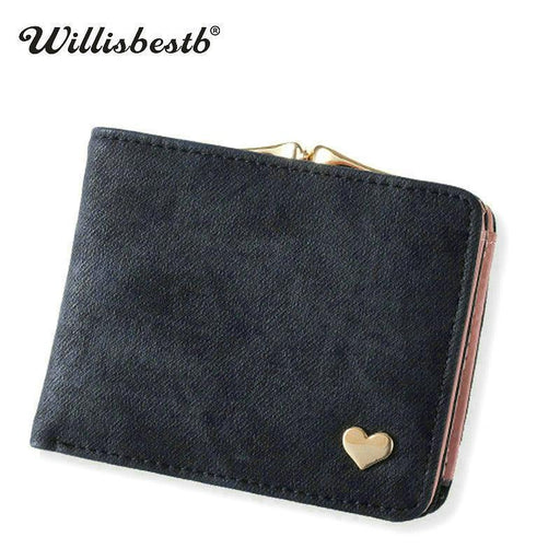 New Woman Wallet Small Hasp Coin Purse For Women Luxury Leather Female Wallets Design Brand Mini-Wallets-Fashion11 Loves Bags Store-Purple-EpicWorldStore.com