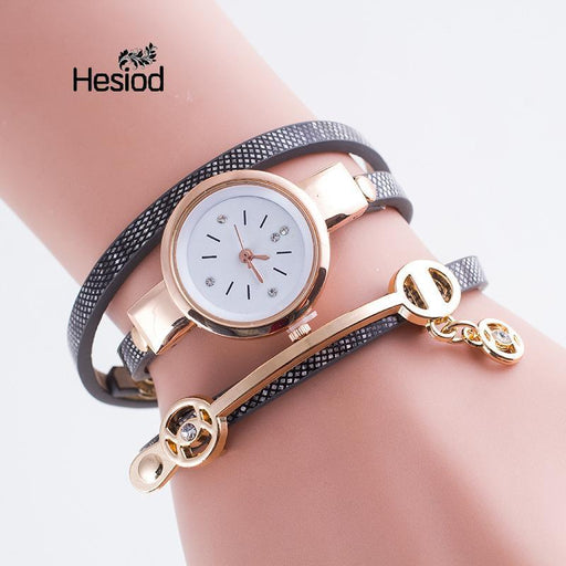 New Women Bracelet Watch Gold Quartz Gift Watch Wristwatch Women Dress  Leather Casual-Women s Bracelet d716a6bdfedf