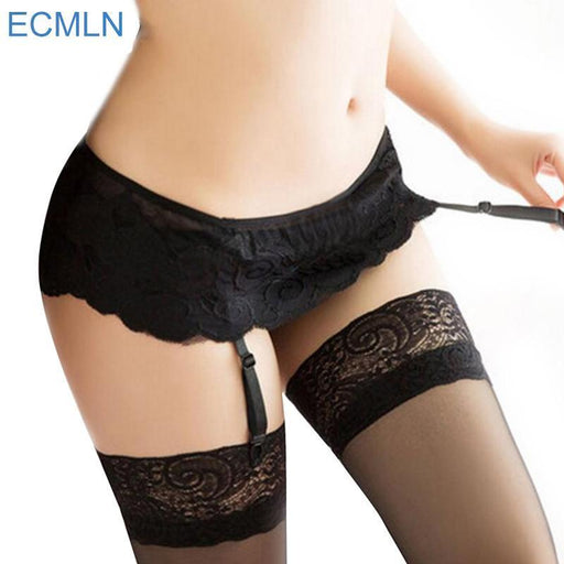 2a598a337254 New Womens Stylish Black Lace Top Thigh Highs Stockings Garter Belt#No  Stocking-Garters