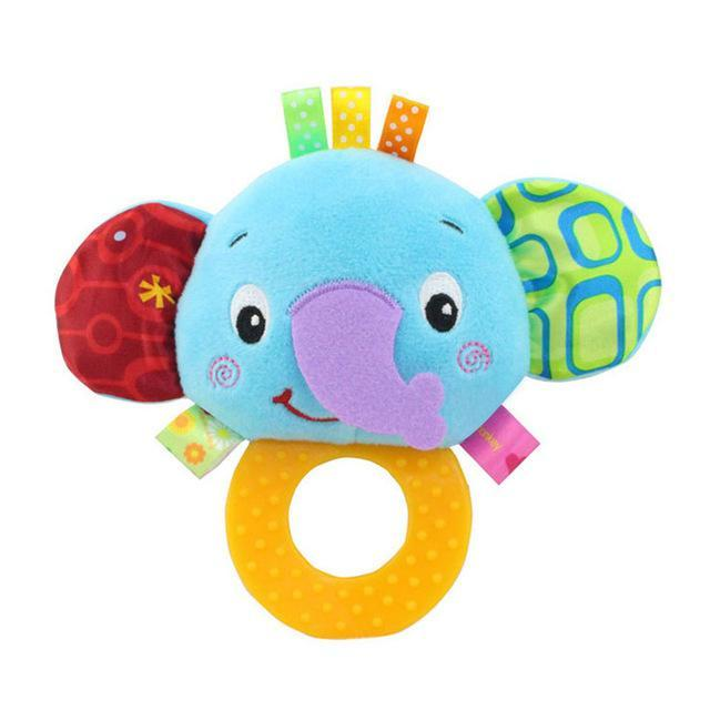 Newborn Baby Toys 0 12 Months Cartoon Animal Owl Elephant Baby Boy