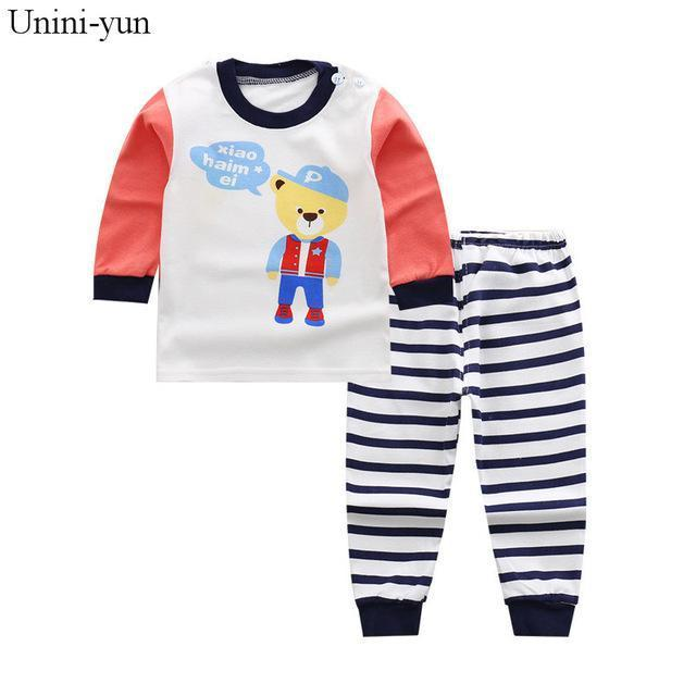 2758cc22d8ef Newborn Little Kids Boys Clothes Set Baby Boy Clothes Toddler Baby Clothing