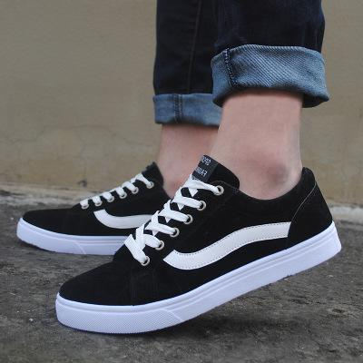 latest design detailed look new high quality Newest Brand Designer Wide Big Size Men Canvas Shoes Extra Large Size  Canvas Shoes