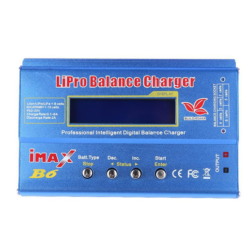 Newest Build-Power 80W Imax B6 Lipro Nimh Li-Ion Ni-Cd Rc Lithium Battery Balance Digital Charger-Accessories & Parts-Annke Consumer Electronics-EpicWorldStore.com