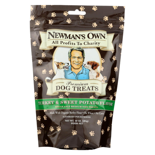 Newmans Own Organics Turkey And Sweet Potato Treats - Organic - Case Of 6 - 10 Oz.-Eco-Friendly Home & Grocery-Newman's Own Organics-EpicWorldStore.com