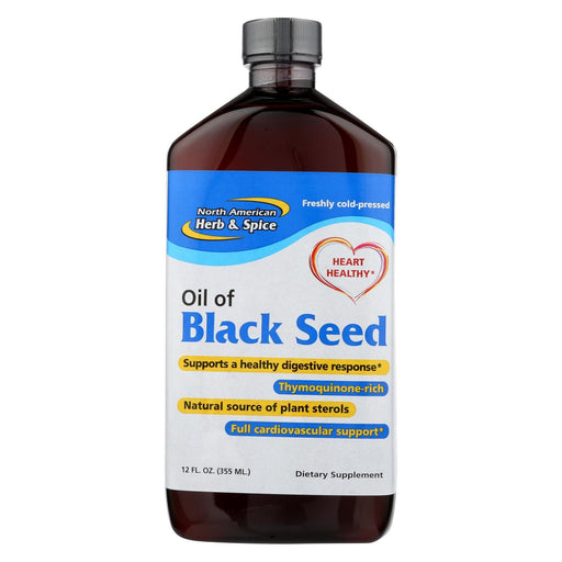 North American Herb And Spice Oil Of Black Seed - 12 Fl Oz-Eco-Friendly Home & Grocery-North American Herb And Spice-EpicWorldStore.com