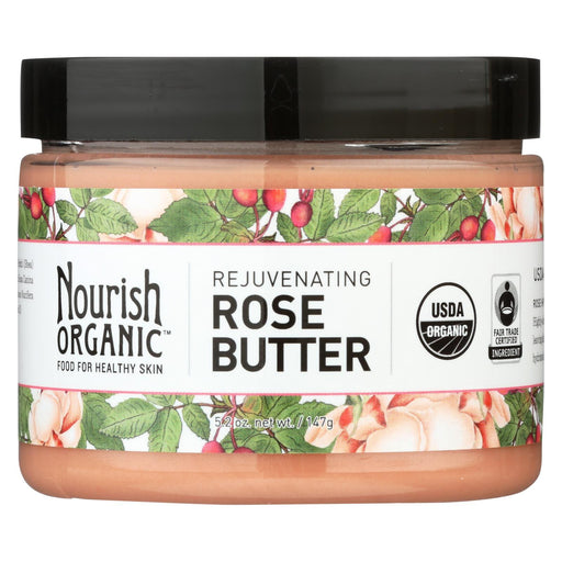 Nourish Face Clnsr - Organic - Rose Butter - 5.2 Oz-Eco-Friendly Home & Grocery-Nourish-EpicWorldStore.com