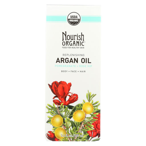 Nourish Organic Argan Oil - Replenishing Multi Purpose - 3.4 Oz-Eco-Friendly Home & Grocery-Nourish-EpicWorldStore.com