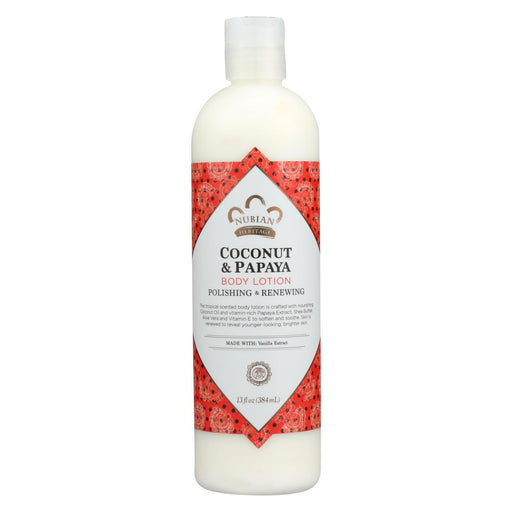Nubian Heritage Lotion - Coconut And Papaya - 13 Oz-Eco-Friendly Home & Grocery-Nubian Heritage-EpicWorldStore.com