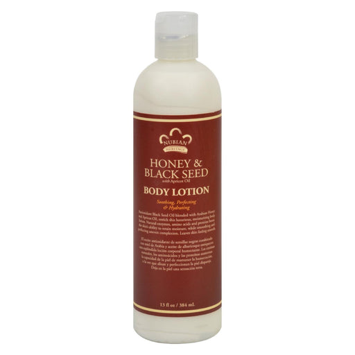 Nubian Heritage Lotion - Honey And Black Seed - 13 Oz-Eco-Friendly Home & Grocery-Nubian Heritage-EpicWorldStore.com