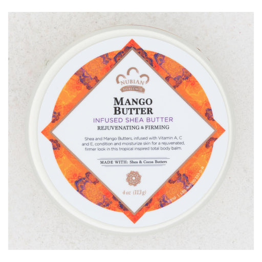 Nubian Heritage Mango Butter Infused With Shea Oil And Vitamin C - 4 Oz-Eco-Friendly Home & Grocery-Nubian Heritage-EpicWorldStore.com