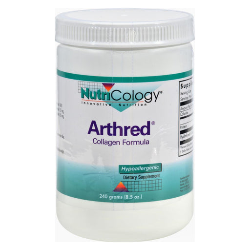 Nutricology Arthred Collagen Formula - 8.5 Oz-Eco-Friendly Home & Grocery-Nutricology-EpicWorldStore.com