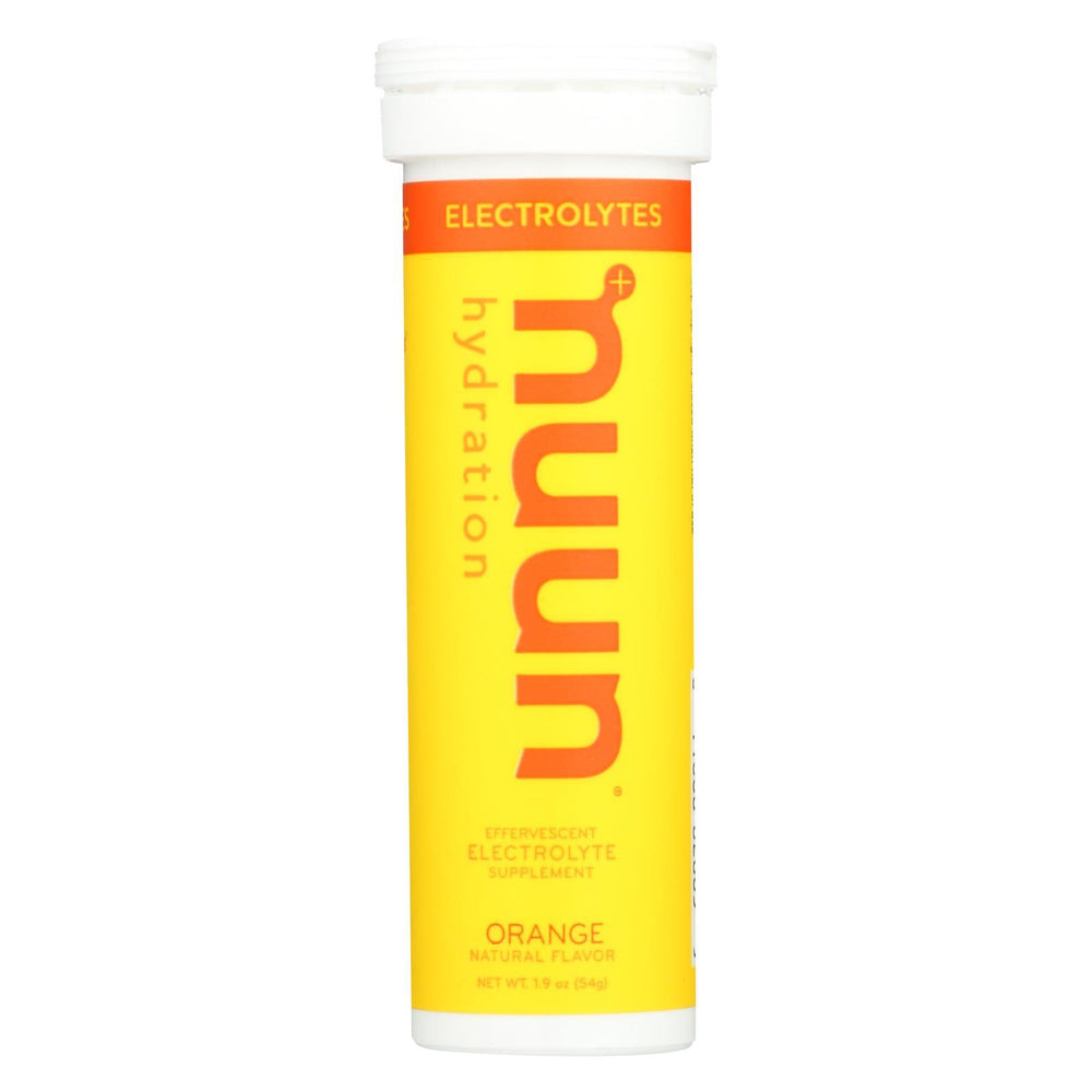 Nuun Hydration Drink Tab - Active - Orange - 10 Tablets - Case Of 8-Eco-Friendly Home & Grocery-Nuun Hydration-EpicWorldStore.com