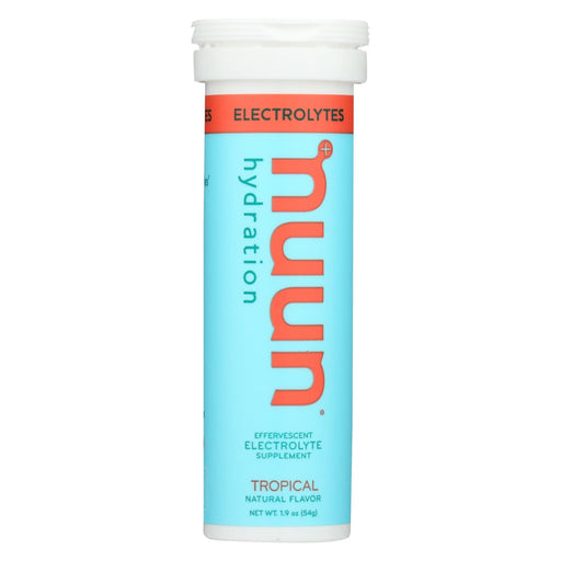 Nuun Hydration Drink Tab - Active - Tropical - 10 Tablets - Case Of 8-Eco-Friendly Home & Grocery-Nuun Hydration-EpicWorldStore.com