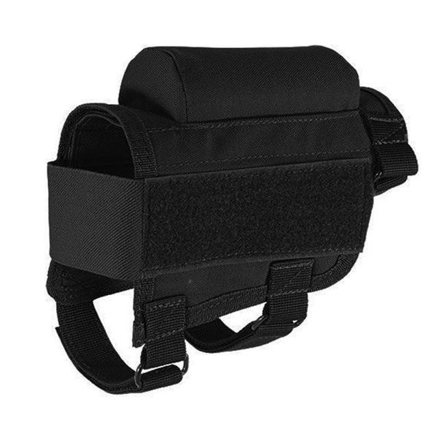 Nylon Tactical Rifle Cheek Rest Riser Pad Ammo Cartridges Holder Carrier Canvas Pouch Round-Hunting-JUST NOW...-Black-EpicWorldStore.com
