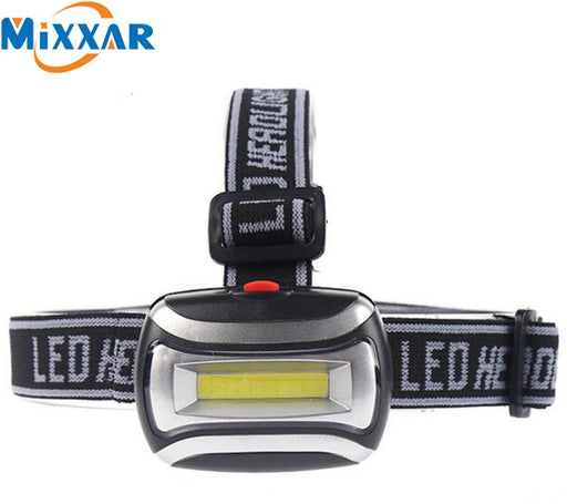 Nzk20 Hot Sell Mini 600Lm Cob Led Headlight Headlamp Head Lamp Flashlight 3Xaaa Battery Torch-Portable Lighting-Light the World Store-EpicWorldStore.com